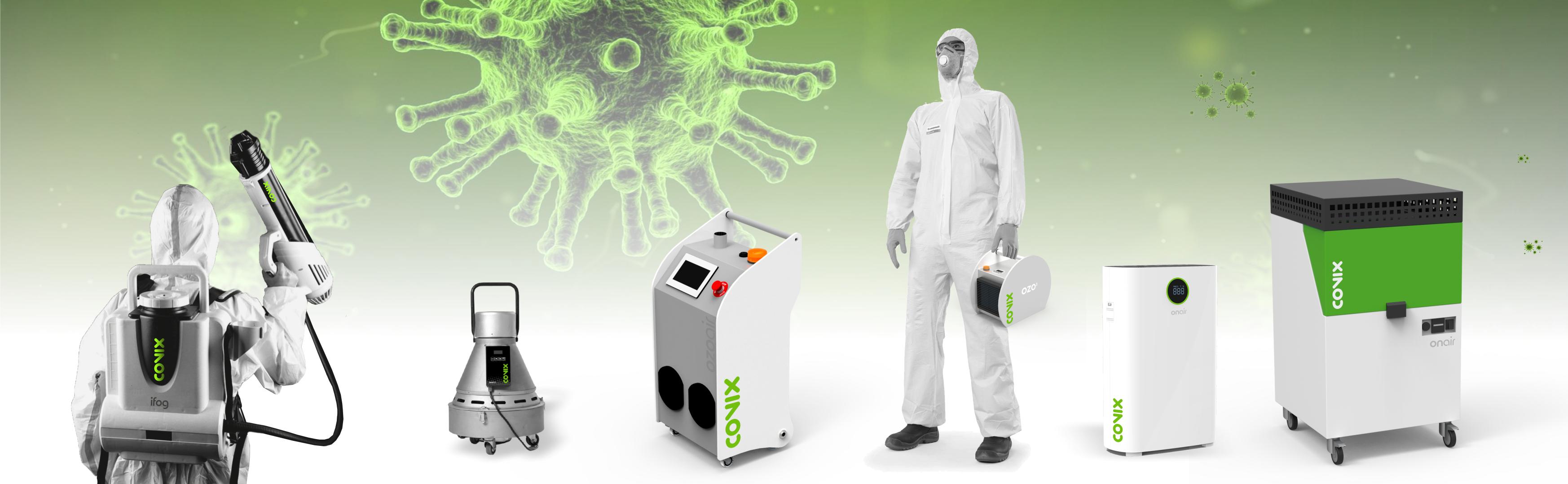 equipamento de desinfecção de vírus