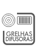 GRELHAS DIFUSORAS