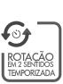 ROTACAO EN 2 SENTIDOS TEMPORIZADA
