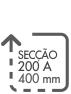 SECCAO 200 A 400 MM