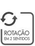 ROTACAO EN 2 SENTIDOS