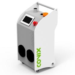Gerador de ozônio industrial. Desinfecta e desodoriza condutas de ar condicionado